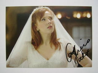 Catherine Tate autographed photo