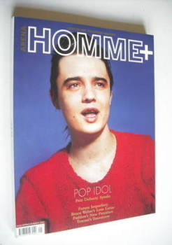 Arena Homme Plus magazine (Spring/Summer 2005 - Pete Doherty cover) (Cover 1/2)