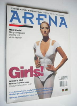 Arena magazine - Winter 1990 - Tatjana Patitz cover