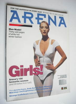 <!--1990-12-->Arena magazine - Winter 1990 - Tatjana Patitz cover