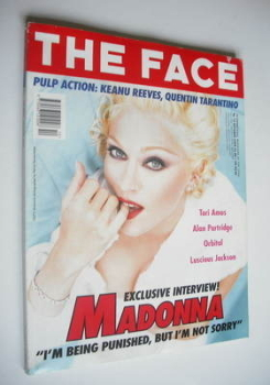 The Face magazine - Madonna cover (October 1994 - Volume 2 No. 73)