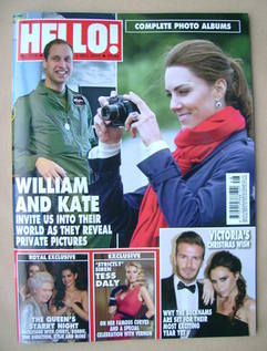 <!--2012-12-03-->Hello! magazine - Prince William and Kate Middleton cover