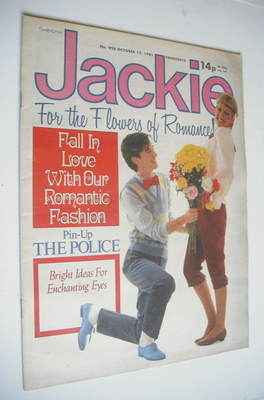 <!--1981-10-17-->Jackie magazine - 17 October 1981 (Issue 928)