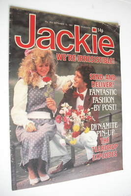 <!--1981-09-12-->Jackie magazine - 12 September 1981 (Issue 923)