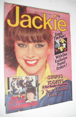 <!--1980-10-25-->Jackie magazine - 25 October 1980 (Issue 877)