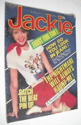 <!--1980-08-23-->Jackie magazine - 23 August 1980 (Issue 868)