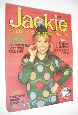 <!--1979-12-22-->Jackie magazine - 22 December 1979 (Issue 833)