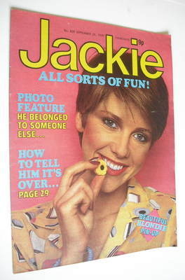 <!--1979-09-22-->Jackie magazine - 22 September 1979 (Issue 820)