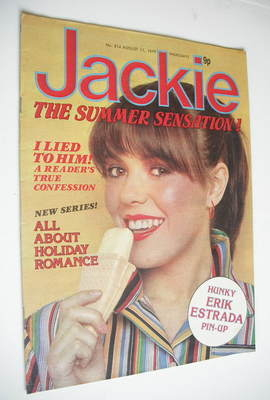 <!--1979-08-11-->Jackie magazine - 11 August 1979 (Issue 814)