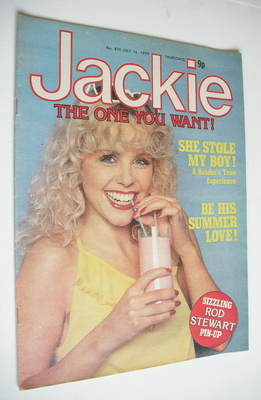 <!--1979-07-14-->Jackie magazine - 14 July 1979 (Issue 810 - Debbie Ash cov