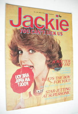 <!--1976-04-03-->Jackie magazine - 3 April 1976 (Issue 639)