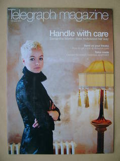 <!--2002-06-29-->Telegraph magazine - Samantha Morton cover (29 June 2002)