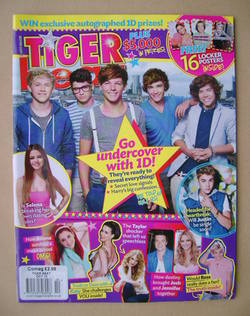 Tiger Beat magazine - October 2012 - One Direction cover