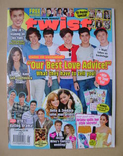 <!--2012-08-->Twist magazine - August 2012 - One Direction cover