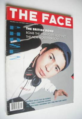<!--1988-10-->The Face magazine - Tim Simenon cover (October 1988 - Volume