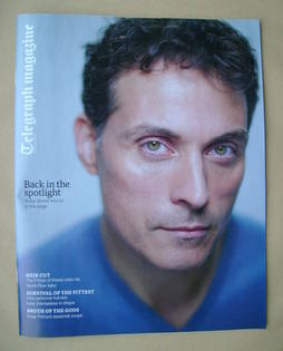 <!--2013-01-05-->Telegraph magazine - Rufus Sewell cover (5 January 2013)