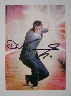 David Tennant autographed photo
