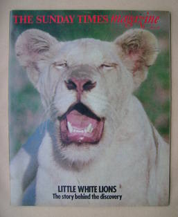 <!--1977-05-15-->The Sunday Times magazine - Little White Lions cover (15 M
