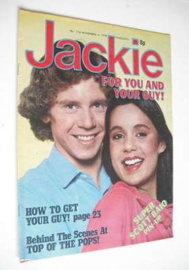 <!--1978-11-04-->Jackie magazine - 4 November 1978 (Issue 774)