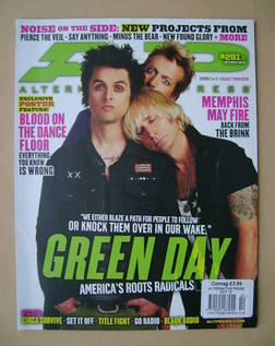 Alternative Press magazine - October 2012 - Green Day cover