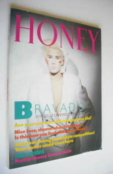 Honey magazine - October 1984