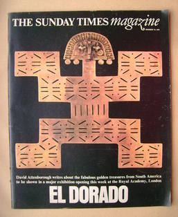 <!--1978-11-19-->The Sunday Times magazine - El Dorado cover (19 November 1