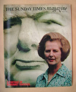 <!--1978-08-20-->The Sunday Times magazine - Margaret Thatcher cover (20 Au