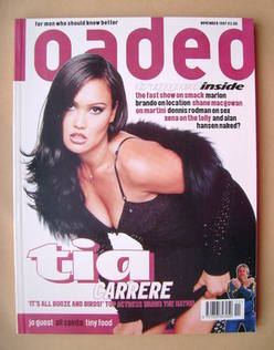 <!--1997-11-->Loaded magazine - Tia Carrere cover (November 1997)