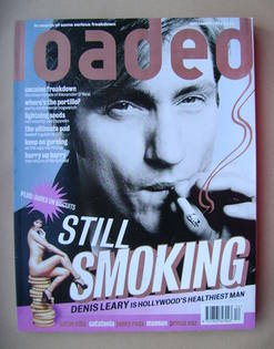 <!--1996-12-->Loaded magazine - Denis Leary cover (December 1996)