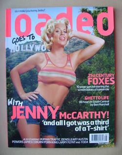 <!--1999-08-->Loaded magazine - Jenny McCarthy cover (August 1999)