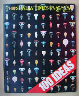 <!--1981-10-18-->The Sunday Times magazine - 100 Ideas cover (18 October 19
