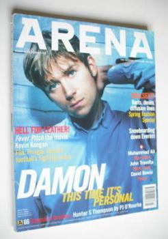 Arena magazine - March 1997 - Damon Albarn cover