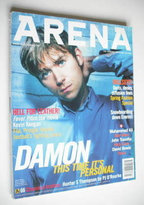 <!--1997-03-->Arena magazine - March 1997 - Damon Albarn cover