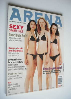 <!--1997-07-->Arena magazine - July/August 1997 - Gucci Girls cover