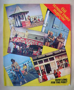 <!--1980-08-24-->The Sunday Times magazine - How Long For The Pier? cover (