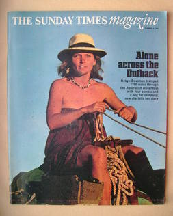 <!--1978-12-03-->The Sunday Times magazine - Robyn Davidson cover (3 Decemb