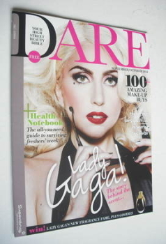 Dare magazine - Lady Gaga cover (September/October 2012)