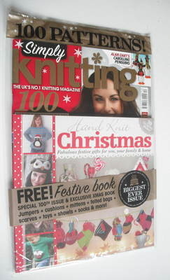 Simply Knitting magazine (Issue 100 - December 2012)