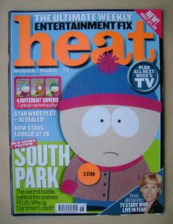 Heat magazine - South Park cover (8-14 May 1999 - Issue 14)