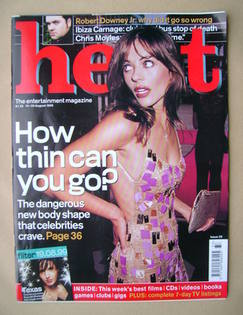 <!--1999-08-19-->Heat magazine - Elizabeth Hurley cover (19-25 August 1999