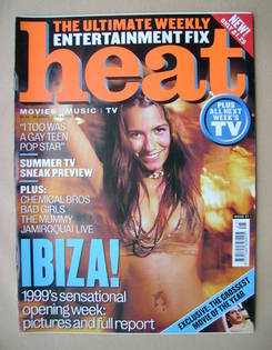 <!--1999-06-26-->Heat magazine - Ibiza! cover (26 June-2 July 1999 - Issue