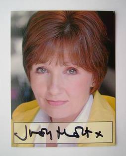 Judy Holt autograph