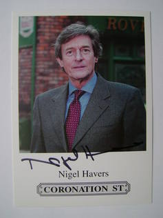 Nigel Havers autographed photo