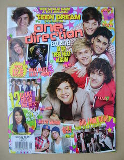 Teen Dream magazine - One Direction cover (October 2012 - No.33)