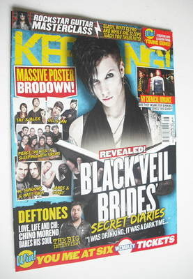 <!--2012-12-01-->Kerrang magazine - Andy Biersack cover (1 December 2012 -