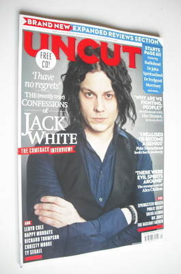 <!--2012-05-->Uncut magazine - Jack White cover (May 2012)