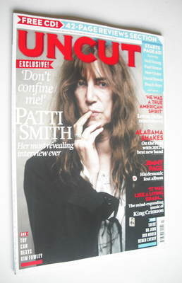 <!--2012-07-->Uncut magazine - Patti Smith cover (July 2012)
