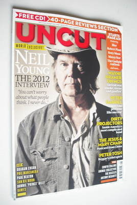 <!--2012-08-->Uncut magazine - Neil Young cover (August 2012)