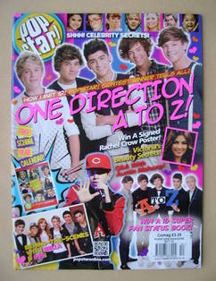 POPSTAR magazine - October 2012 - One Direction cover
