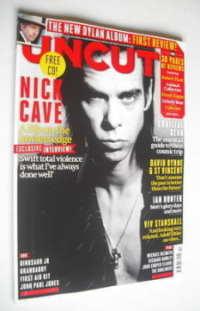 Uncut magazine - Nick Cave cover (October 2012)